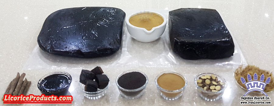 Iran Licorice Products Factory Liquorice Product